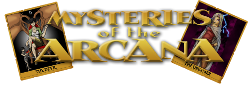 Mysteries of the Arcana - logo